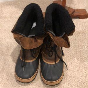 Barely worn Men's Sorel boots size 12